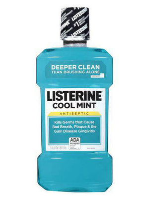 Listerine Cool Mint Antiseptic Mouthwash (1,000ml)