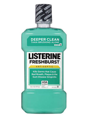Listerine Fresh Burst Antiseptic Mouthwash (1,000ml)
