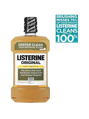 Listerine Antiseptic Original Mouthwash (1,500ml)