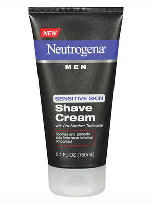 Neutrogena Men Sensitive Skin Shave Cream (151ml)
