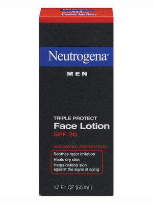 Neutrogena Men Triple Protect Face Lotion with SPF 20 (50ml)