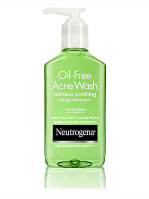 Neutrogena Redness Soothing Facial Cleanser Oil-Free Acne Wash (177ml)