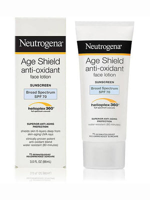 Neutrogena Age Shield Face Lotion Sunscreen Broad Spectrum SPF 70 (89ml)
