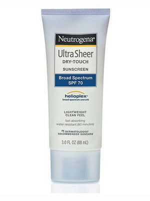 Neutrogena Ultra Sheer Dry-Touch Sunscreen Lotion Broad Spectrum SPF 70 (89ml)