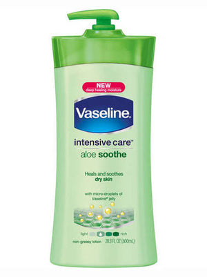 Vaseline Intensive Care Aloe Soothe Body Lotion (600ml)