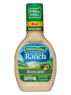 Hidden Valley Avocado Ranch Dressing (454g)