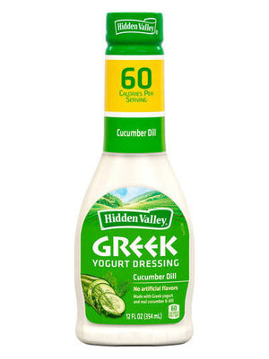 Hidden Valley Ranch Greek Yogurt Dressing Cucumber (340g)