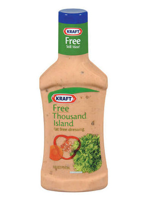 Kraft Free Thousand Island Dressing (454g)