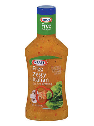 Kraft Free Zesty Italian Dressing (454g)