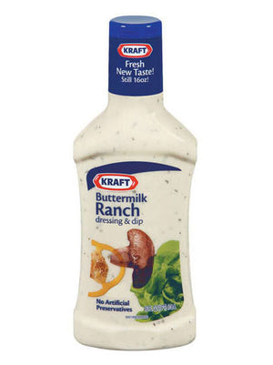 Kraft Buttermilk Ranch Dressing (454g)