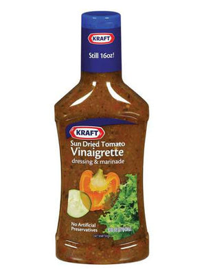 Kraft Sun Dried Tomato Vinaigrette Dressing (454g)