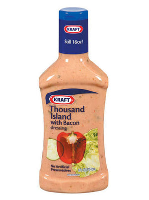 Kraft Thousand Island w/Bacon Dressing (454g)