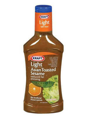 Kraft Light Asian Toasted Sesame Dressing (454g)