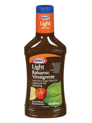Kraft Light Balsamic Vinaigrette Dressing (454g)