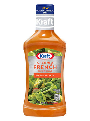 Kraft Creamy French Dressing (454g)