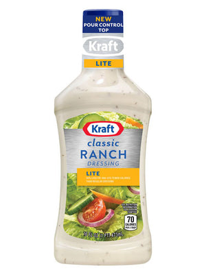 Kraft Light Ranch Dressing (454g)