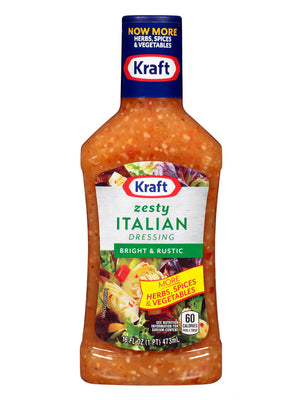 Kraft Zesty Italian Dressing (454g)