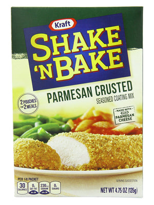 Kraft Shake n Bake Parmesan Crusted (135g)