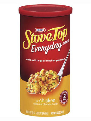 Kraft Stove Top Everyday Chicken Stuffing Mix for Chicken (340g)