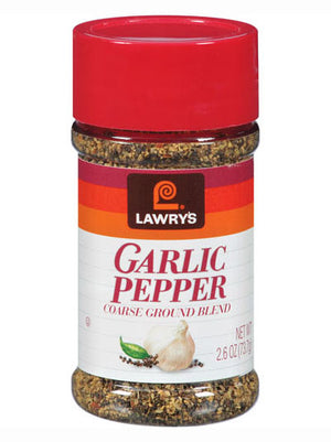 Lawry's Coarse Ground Garlic Pepper Blend Seasoning (74g)