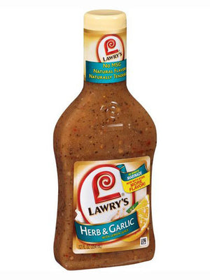 Lawry's Herb & Garlic 30 Min Marinade With Lemon Juice (340g)