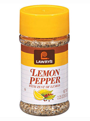 Lawry's Lemon Pepper w/ Zest Of Lemon (64g)