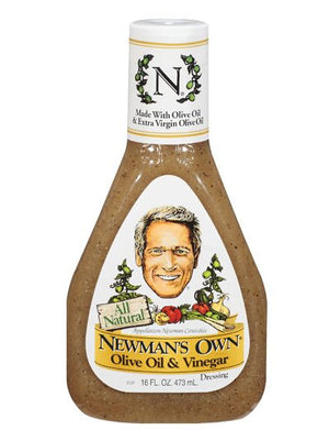 Newman's Own Olive Oil & Vinegar Dressing (454g)