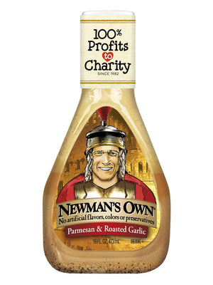 Newman's Own Parmesan and Roasted Garlic Salad Dressing (454g)