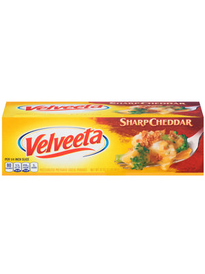 Velveeta Sharp Cheddar Cheese (907g)