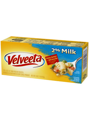 Velveeta Reduced Fat Cheese (454g)