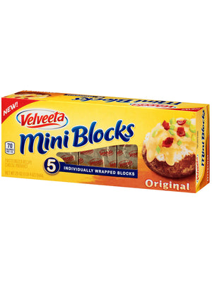 Velveeta Mini Blocks Original Cheese (567g)