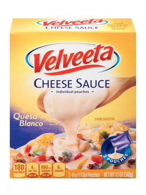 Velveeta Queso Blanco Cheese Sauce (340g)
