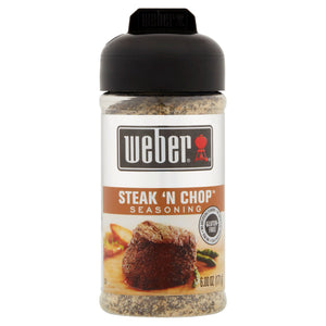 Weber Grill Steak 'N Chop Seasoning (170g)