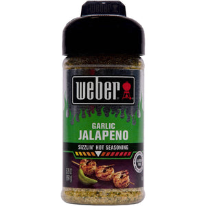 Weber Grill Garlic Jalapeno Seasoning (163g)