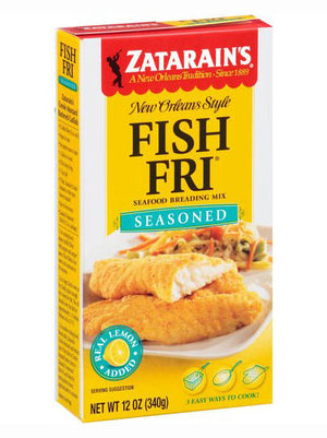 Zatarain's Seasoned Fish-Fri Seafood Breading Mix (340g)