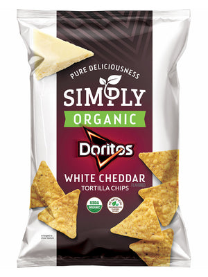 Doritos Organic White Cheddar Tortilla Chips (213g)