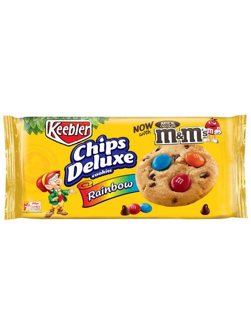 Keebler Chips Deluxe Rainbow Cookies with M&M's (329g)