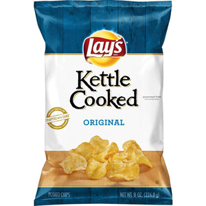 Lay's Kettle Cooked Original Potato Chips (227g)