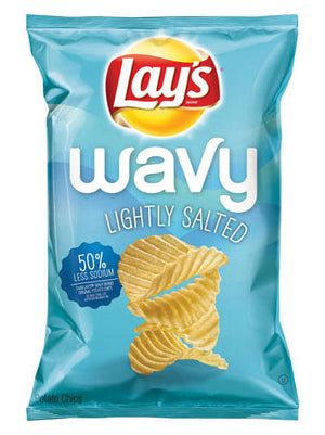 Lay's Wavy Lightly Salted Potato Chips