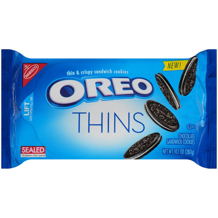 Oreo Thins Chocolate Sandwich Cookies (286g)