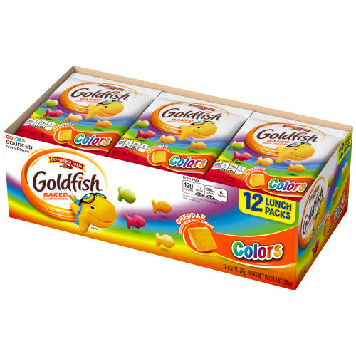 Pepperidge Farm Goldfish Colors Snacks (12x25g)