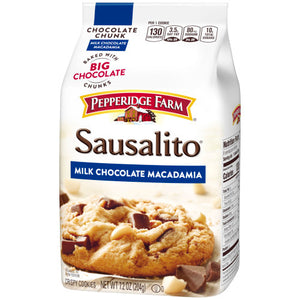 Pepperidge Farm Chocolate Chunk Sausalito Milk Chocolate Macadamia Cookies (204g)