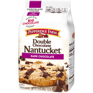 Pepperidge Farm Double Chocolate Chunk Dark Chocolate Cookies (220g)
