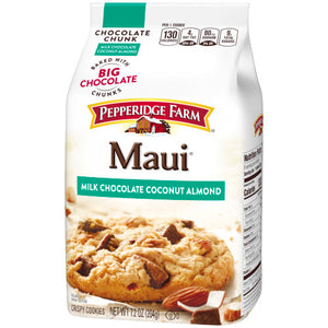 Pepperidge Farm Maui Milk Chocolate Coconut Almond Cookies (204g)