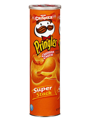 Pringles Cheddar Cheese Potato Crisps (156g)
