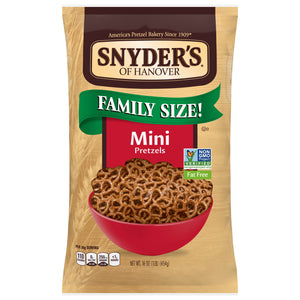 Snyder Of Hanover Mini Fat Free The Pounder Pretzels (454g)
