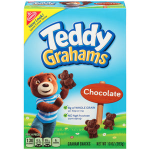 Teddy Grahams Chocolate Snacks (284g)