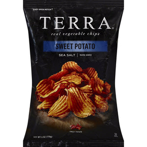 Terra Sweet Potato Chips Sea Salt (170g)