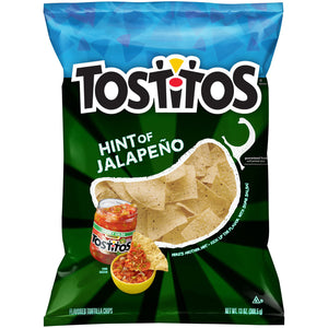 Tostitos Hint of Jalapeño Flavored Tortilla Chips (369g)