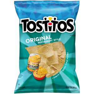 Tostitos Original Restaurant Style Tortilla Chips (369g)